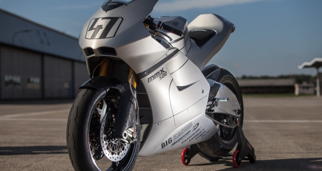 In with the new: Suter 500 V4 2-Stroke to launch with World GP Bike Legends